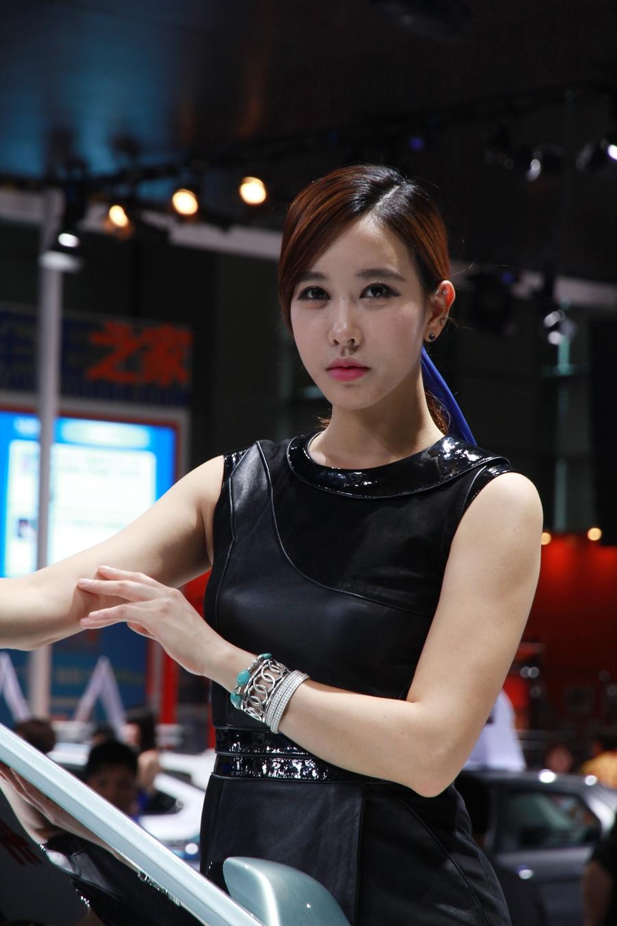 北京现代2号车模