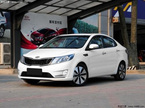 双十一购车节 北京起亚k2优惠3万高清图片
