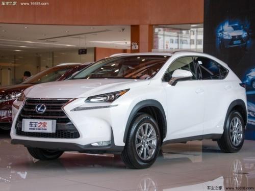 雷克萨斯nx最低31.80万起售少量现车 高清图片