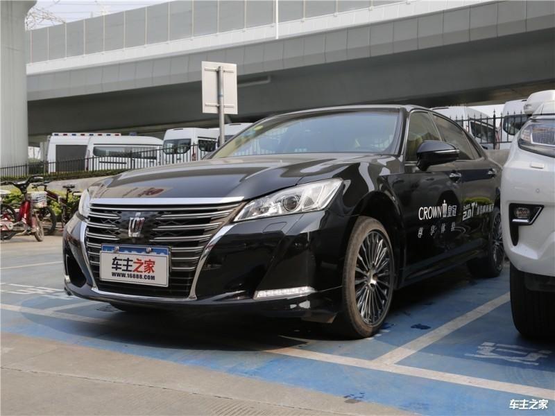 丰田皇冠降价优惠5.5万 活动价格日期有限