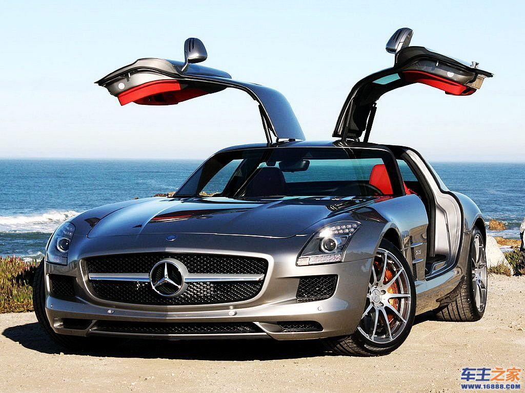 奔驰slsamg超级跑车 天使的翅膀 深度试驾奔驰sls amg高清图片