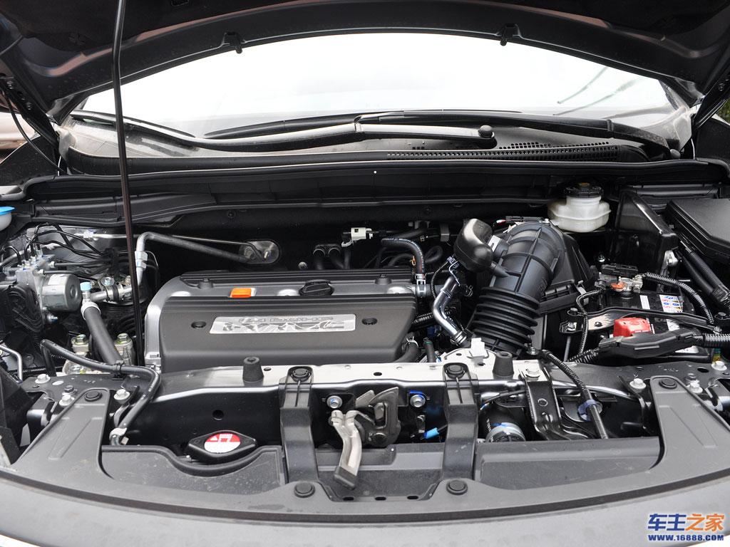 本田cr-v发动机整体图片