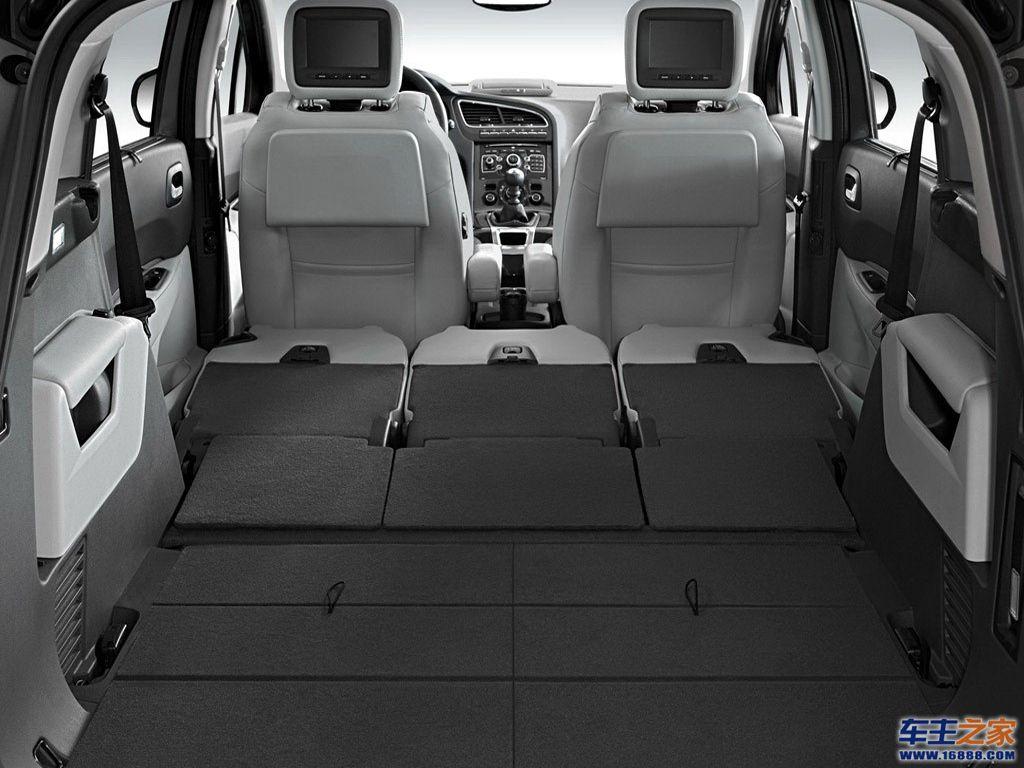 标致3008;; 标致5008车厢座椅图片; 2010款 基本型