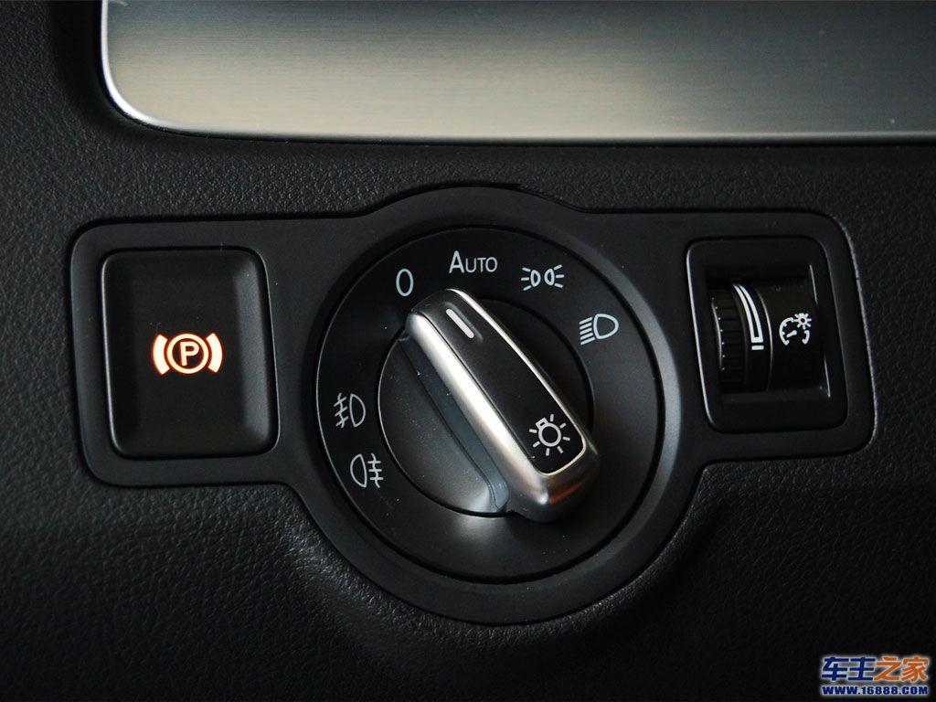 一汽-大众cc大灯调节旋钮