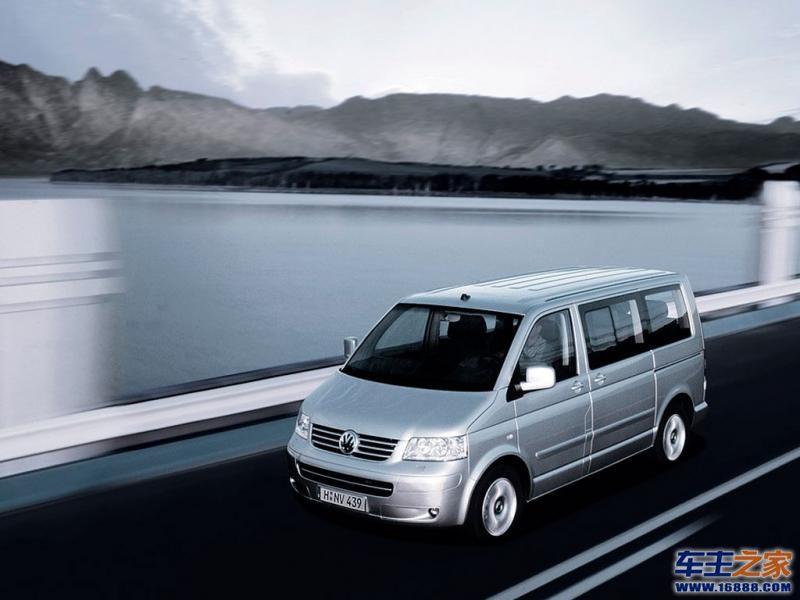 迈特威银色 multivan高清图片