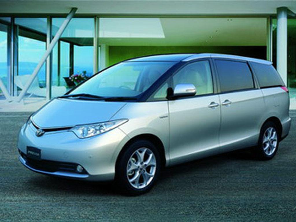 丰田新一代3.5l普瑞维亚登陆中国市场