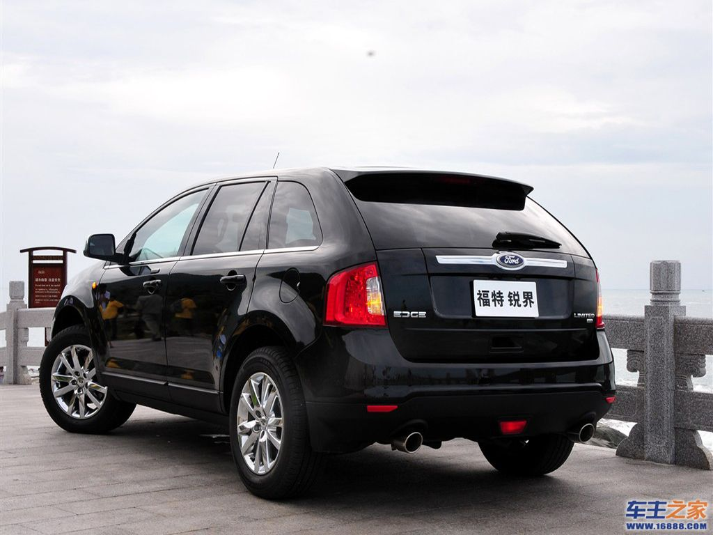 或只推3.5l车型 福特edge锐界12月15日上市高清图片