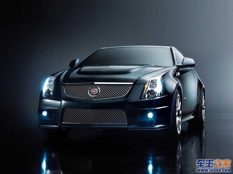2011款凯迪拉克cts v coupe高清图片