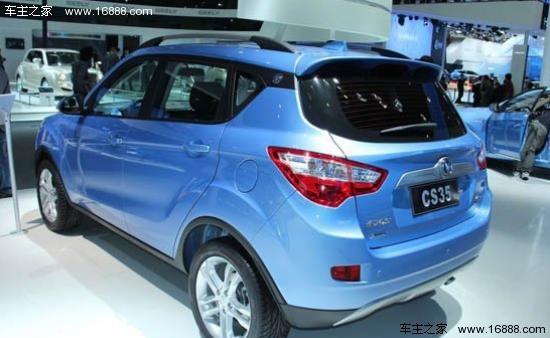 长安首款suv车型cs35高清图片