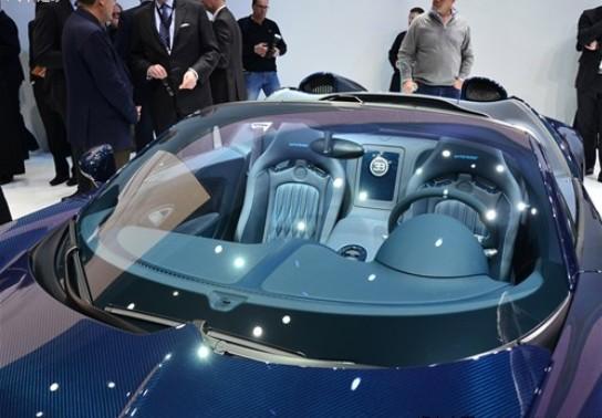 2012日内瓦车展 布加迪威航vitesse发布