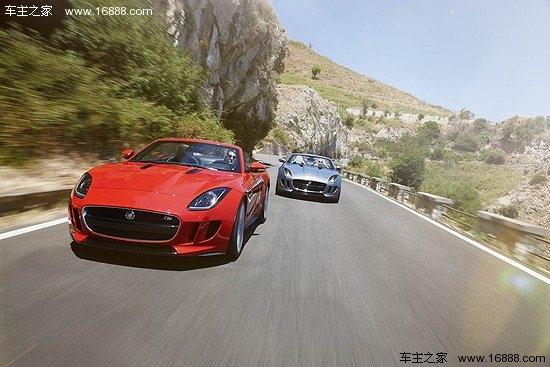 捷豹(jaguar)方面,全新双门双座运动型跑车f-type是首次在中高清图片
