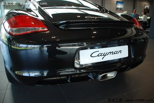 现款保时捷cayman车型高清图片