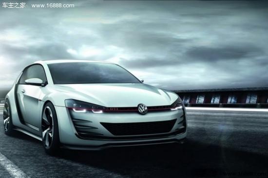 大众高尔夫gti概念车高清图片