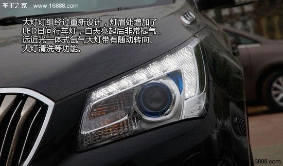 【车主之家 实拍图解】全新君越3.0L智享旗舰型的36.99万元的指导价售价相比老款车型高出5万元,5万元的差价都带来了什么呢?我们今天就将对全新君越进行详细介绍。  上海通用君越一直是一款比较好卖的美系商务中级车型,大气的外观、充足的车内空间再加上先进的科技配置都让它在市场中的有着非凡的竞争力。在今年,君越将进行一次小改款,外观和内饰都有一定程度的变化,在刚刚结束的上海车展上,上海通用首先宣布了全新君越3.