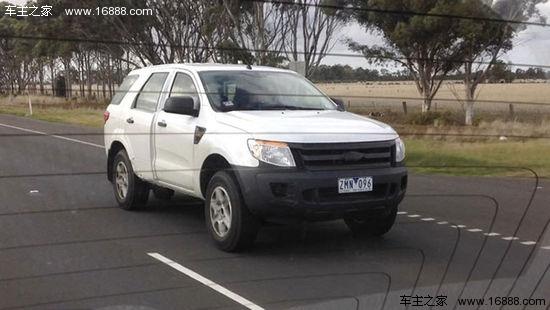 福特七座SUV谍照曝光 基于Ranger打造高清图片