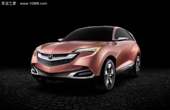 上海车展亮相的讴歌suv-x概念车