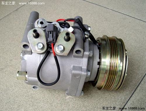 汽车空调组成部件及工作原理