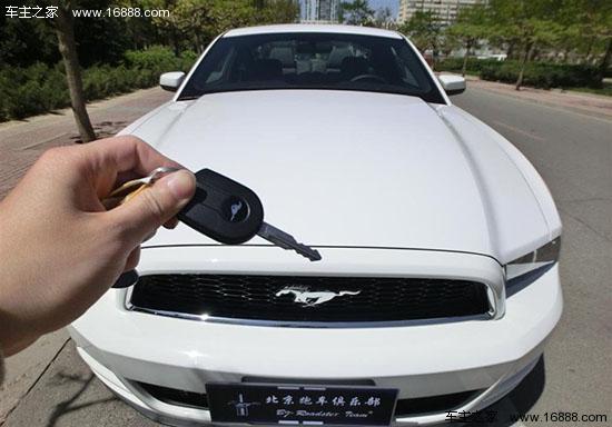 2013款进口福特野马3.7l自动提车手册高清图片