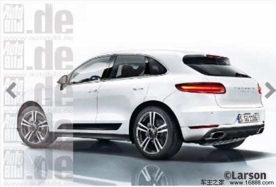 保时捷全新车型Macan效果图-保时捷Macan将于12月份正式量产并下线