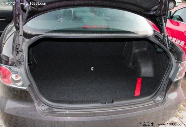 马自达6车型500l的后备箱容积在数据上与丰田凯美瑞的图片