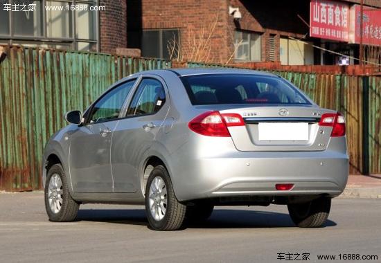 江淮和悦A13 A13RS已开售 5.28万元起售高清图片