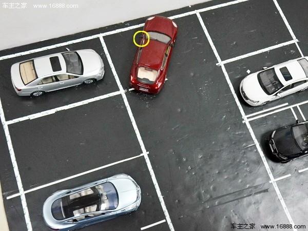 图解倒车入库技巧   非字型停车位 - 吉祥 - 吉祥的博客