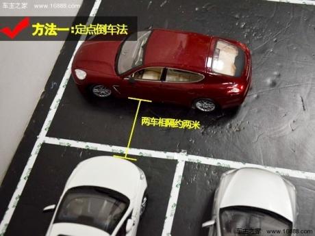 图解倒车入库技巧—非字型停车位