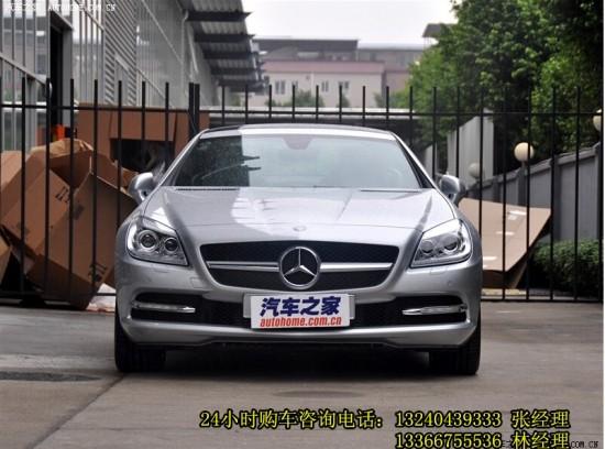 奔驰slk200多少钱 新款奔驰slk200报价 高清图片