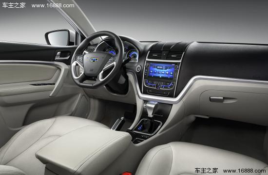 与沃尔沃技术融合的第一款车 吉利新帝豪高清图片