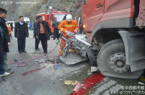 交通事故死亡起�y.i_四川松潘发生特大交通事故 已有8人死亡