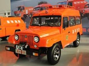 北汽战旗森林消防车图片