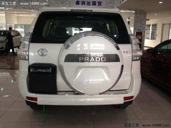 动力方面:15款丰田普拉多2700中东版非承载式车身的结构因为远离高清图片