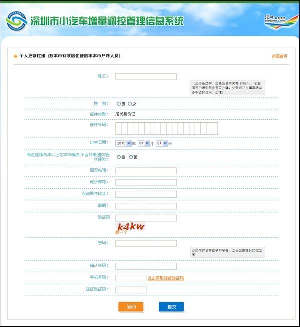 深圳小汽车增量条件