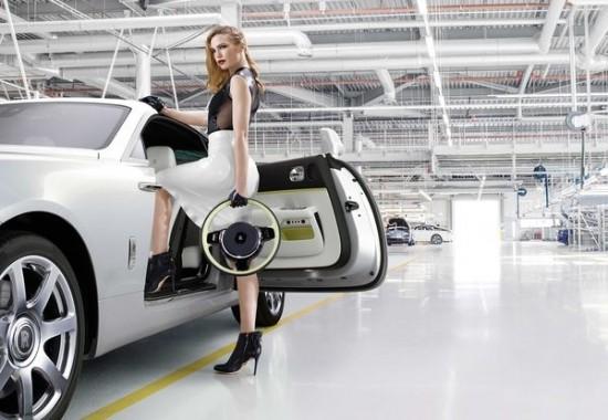 劳斯莱斯 魅影 摩登锋尚 特别版车型发布 车商