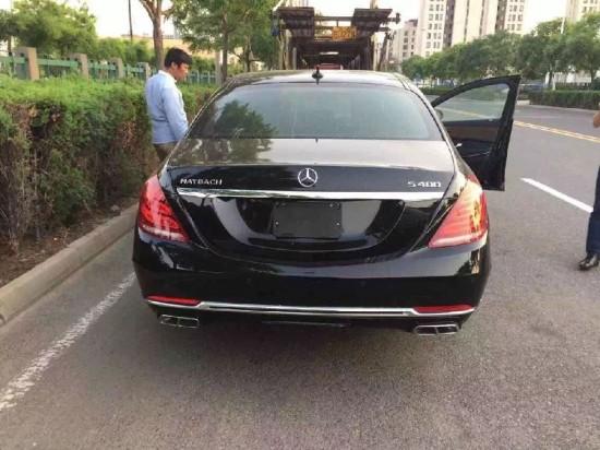 天津奔驰迈巴赫s400现车报价图片图片