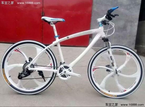 宝马路虎山地自行车 国外原装进口仅三千元