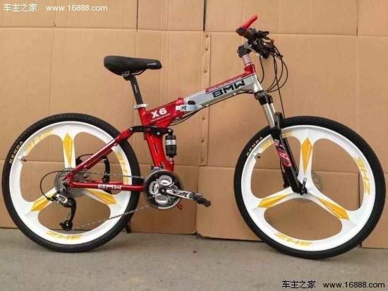 宝马路虎山地自行车 国外原装进口仅三千元图片