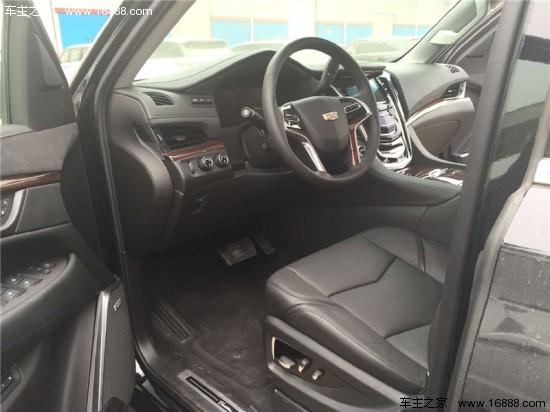 新款凯迪拉克凯雷德现车 卓越越野仅售152万高清图片