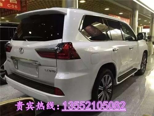 新款雷克萨斯LX570白色现车雷克萨斯lx570现车图片高清图片