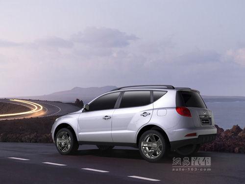 吉利首款SUV车型明年8月上市 详细参数曝光高清图片
