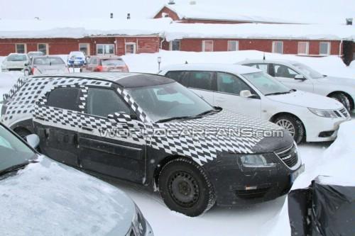 未来2011款萨博-95旅行车可能采用的发动机包括210马力的2高清图片