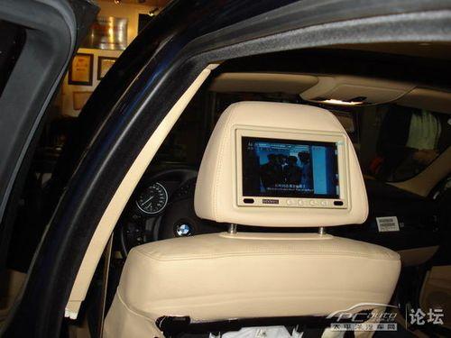 玩的就是潇洒 宝马5系汽车音响改装 影音改装 车主之家高清图片