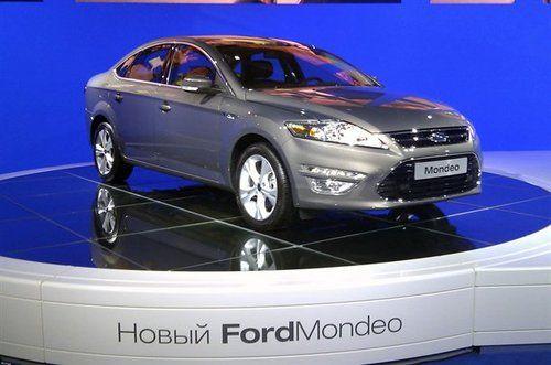 配2.0T发动机 福特改款蒙迪欧首发亮相
