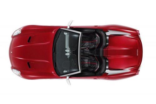 限量推80部 法拉利599敞篷版官图发布高清图片