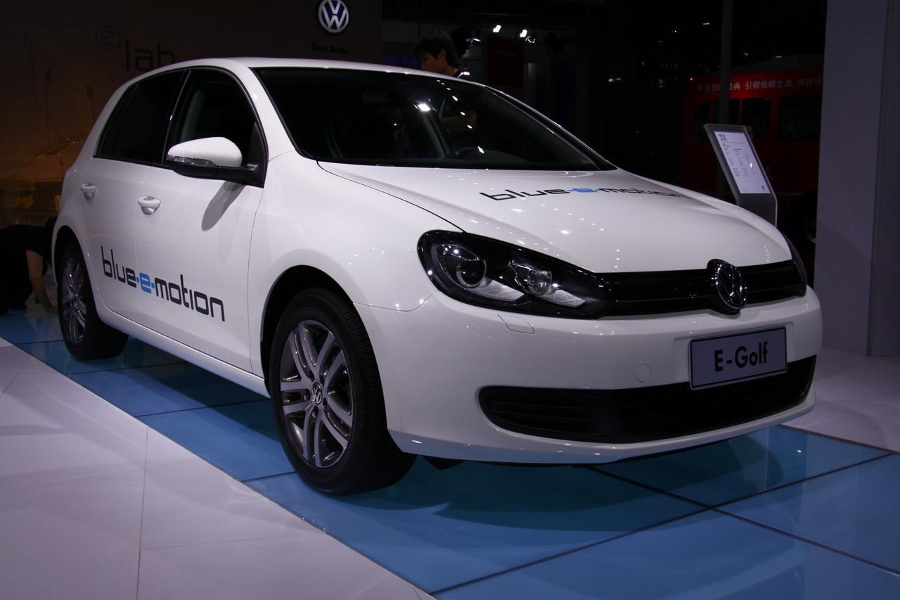 电动版高尔夫(golf),近日vw汽车公司对外宣布,golf电动车将在高清图片