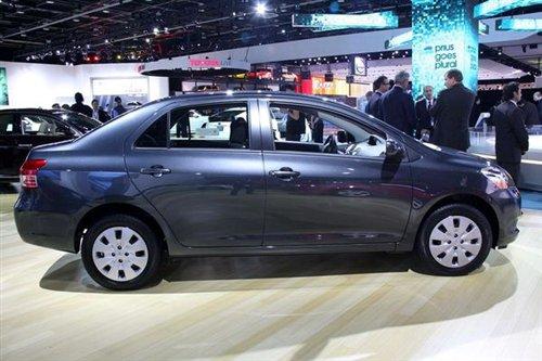 豐田新款三廂雅力士北美車展亮相 中網變化大高清圖片
